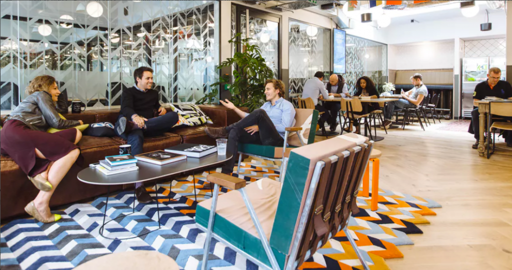 Wework madrid for Oficinas coworking madrid